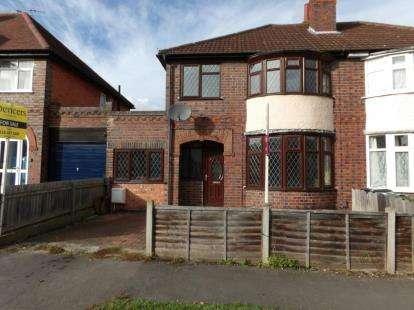 3 Bedrooms Semi Detached House for sale in Spinney Rise, Birstall, Leicester, Leicestershire