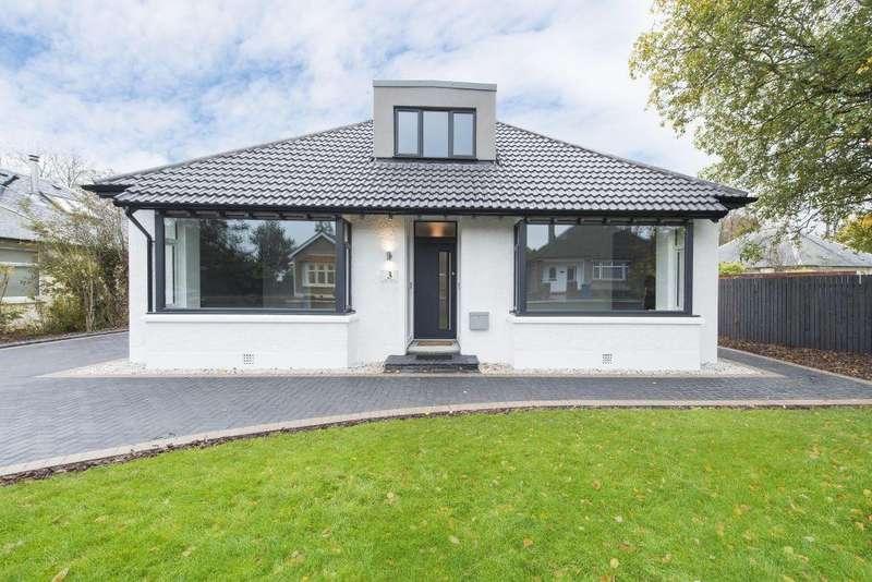 4 Bedrooms Bungalow for sale in 3 Elm Avenue, Lenzie, Glasgow, G66 4HJ