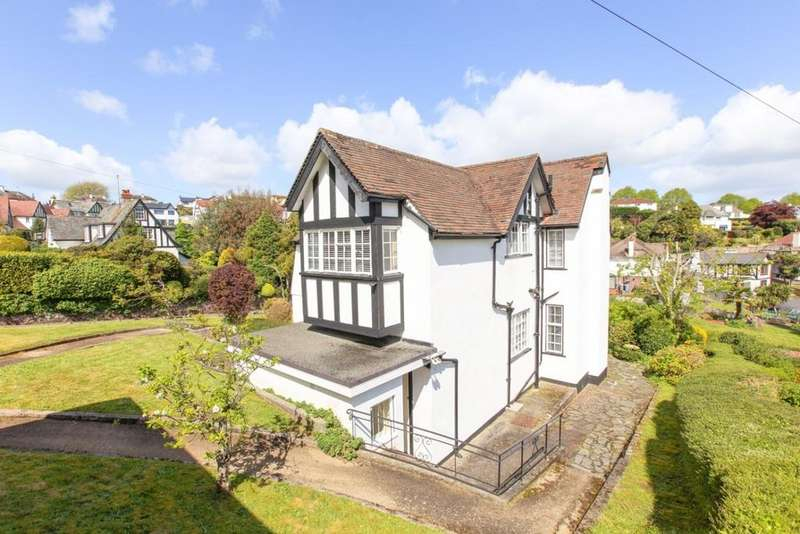 4 Bedrooms Detached House for sale in Mead Road, Torquay, TQ2