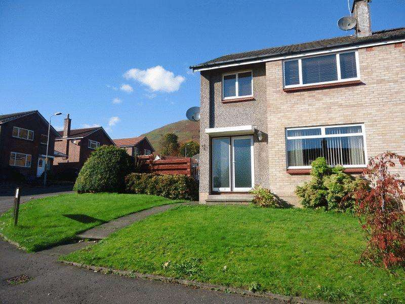 3 Bedrooms Semi Detached House for sale in Walnut Park, Tillicoultry