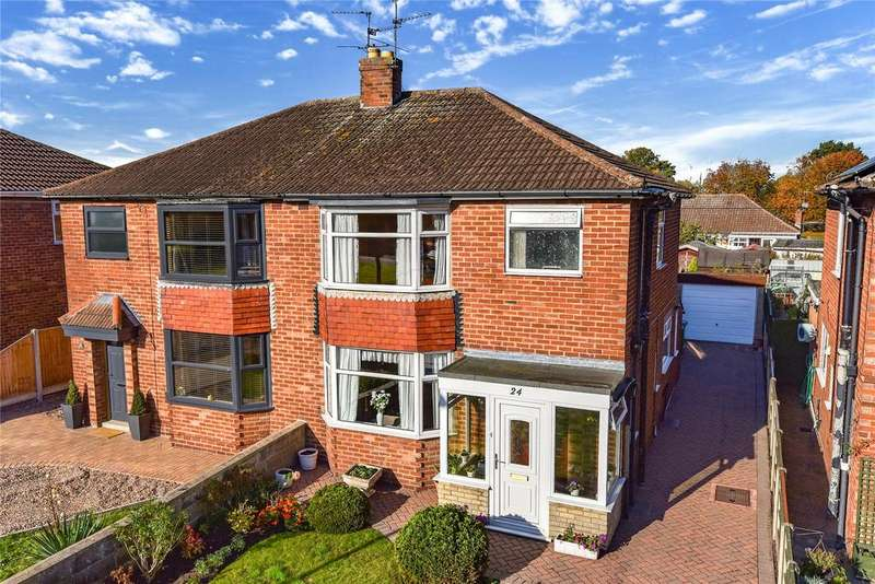 3 Bedrooms Semi Detached House for sale in Rufford Green, Lincoln, LN6