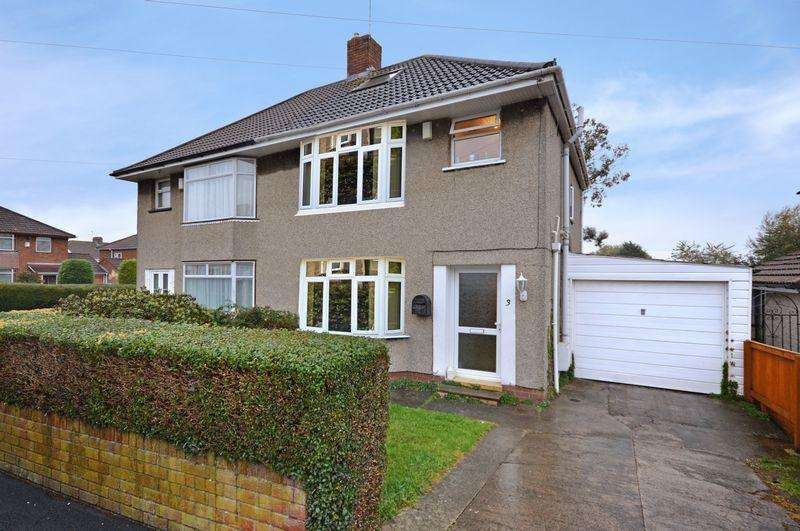 3 Bedrooms Semi Detached House for sale in Gardner Avenue, Bristol