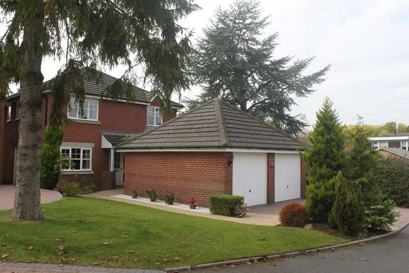 4 Bedrooms Detached House for sale in Rowbrook Close, Shirley