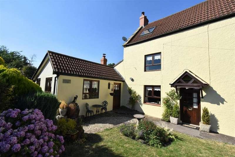 2 Bedrooms Semi Detached House for sale in Edge Farm Cottage, Keynsham Lane, Lydney