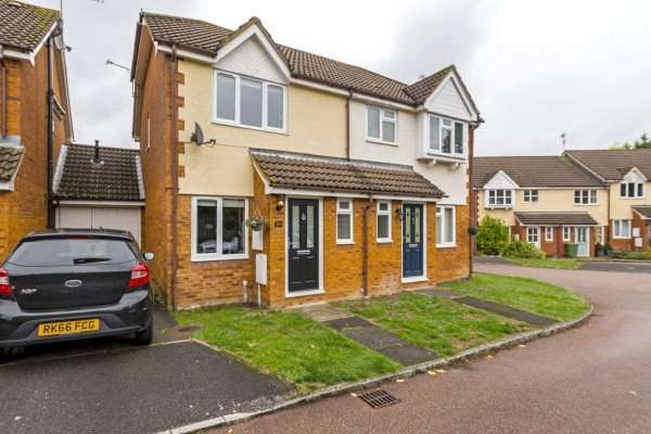2 Bedrooms Semi Detached House for sale in Dunford Place, Binfield, Bracknell