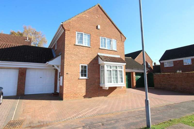 4 Bedrooms Detached House for sale in Blakeney Drive, Luton, Bedfordshire, LU2 7LB
