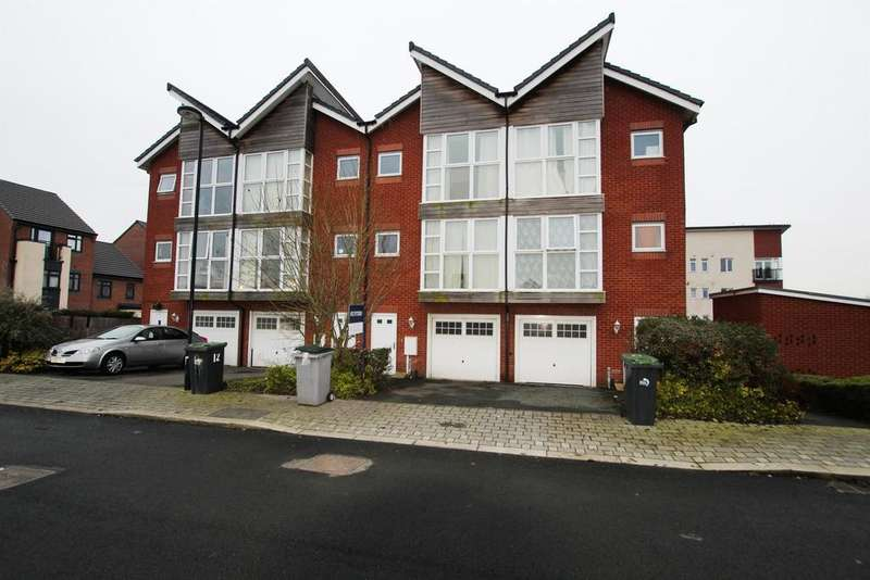 3 Bedrooms Town House for sale in Brentleigh Way, Hanley, Stoke-On-Trent, ST1 3GX