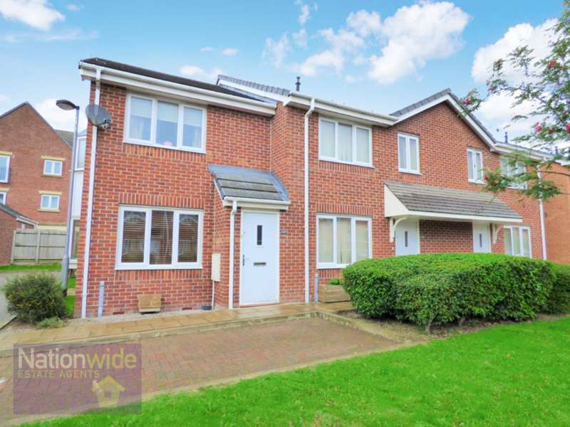 2 Bedrooms Semi Detached House for sale in Chandlers Close, Buckshaw Village, Chorley, PR7 7DY