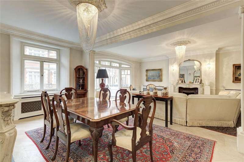 3 Bedrooms Flat for sale in Basil Mansions, Basil Street, London, SW3