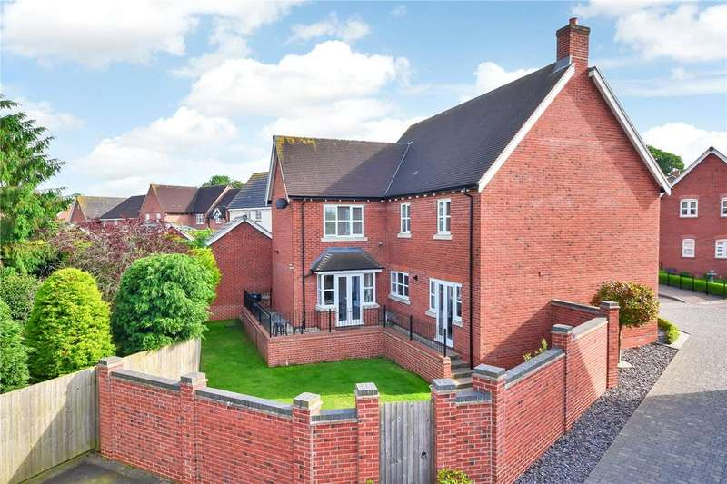 4 Bedrooms Detached House for sale in William Everard Close, Rearsby, Leicestershire