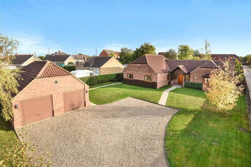 4 Bedrooms Detached Bungalow for sale in The Brambles, Cherry Willingham, LN3