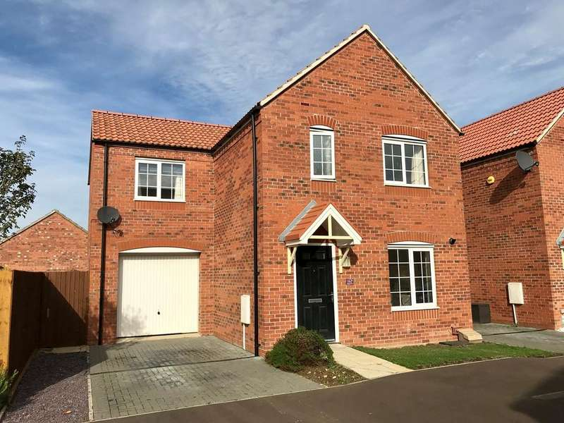 4 Bedrooms Link Detached House for sale in Tyne Close, Spalding, PE11