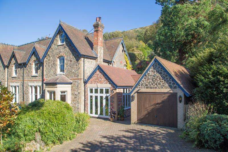 5 Bedrooms Semi Detached House for sale in Hillside, West Malvern Road, Malvern, Worcestershire, WR14 4DG