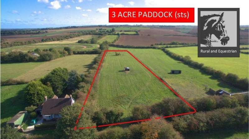 Equestrian Facility Character Property for sale in Paddock adjoining Hallams Close, Julian Bower, Louth, LN11 9QN