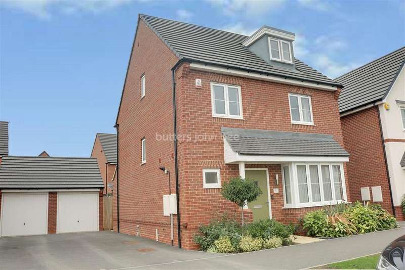 4 Bedrooms Detached House for sale in Higher Croft Drive, Leighton, Crewe