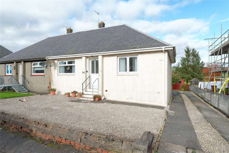 2 Bedrooms Semi Detached Bungalow for sale in Lochview, New Cumnock, Cumnock, East Ayrshire, KA18