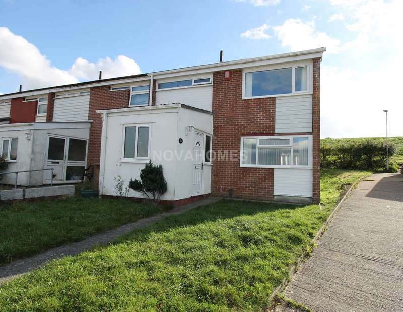 3 Bedrooms End Of Terrace House for sale in Godding Gardens, Southway, PL6 6NF