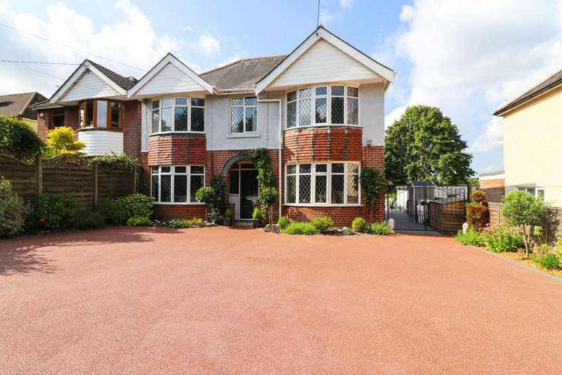 4 Bedrooms Detached House for sale in Kanes Hill, Southampton