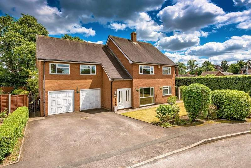 5 Bedrooms Detached House for sale in School Lane,Wellington, Telford, Shropshire TF1 1JF