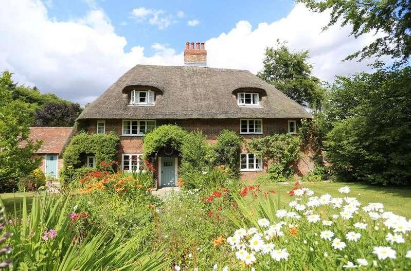 5 Bedrooms Detached House for sale in Corhampton Down, Corhampton