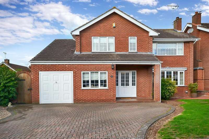5 Bedrooms Detached House for sale in Normanton Close, Edwinstowe, Mansfield