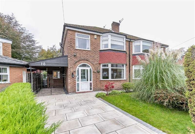 3 Bedrooms Semi Detached House for sale in Bowness Drive, Sale