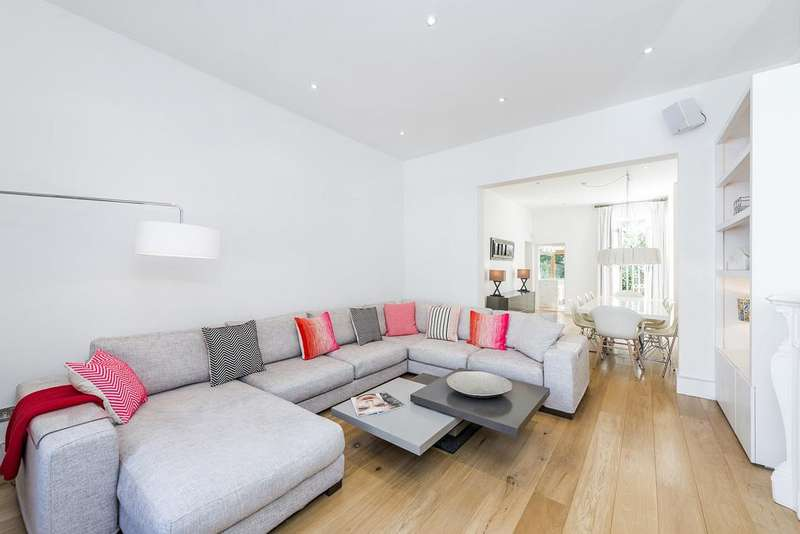 3 Bedrooms Flat for sale in Eardley Crescent, Kensington