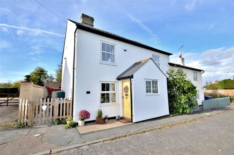 3 Bedrooms Semi Detached House for sale in Haverhill Road, Horseheath, Cambridgeshire, CB21