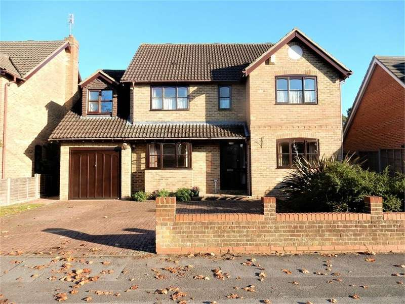 4 Bedrooms Detached House for sale in College Road, College Town, SANDHURST, Berkshire
