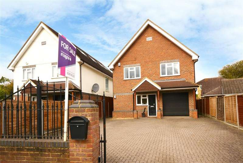 5 Bedrooms Detached House for sale in Mount Pleasant Lane, Bricket Wood, St Albans, Hertfordshire, AL2