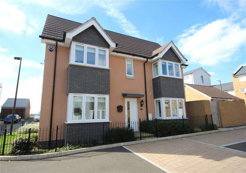3 Bedrooms Semi Detached House for sale in Elm Hayes Road, Charlton Hayes, Bristol, BS34
