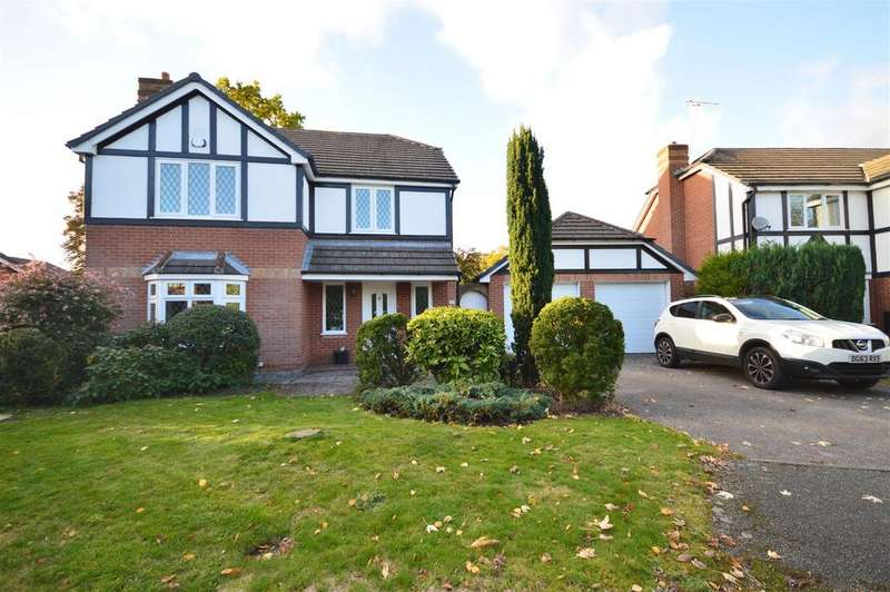 4 Bedrooms Detached House for sale in Tetchill Close, Great Sutton, Ellesmere Port