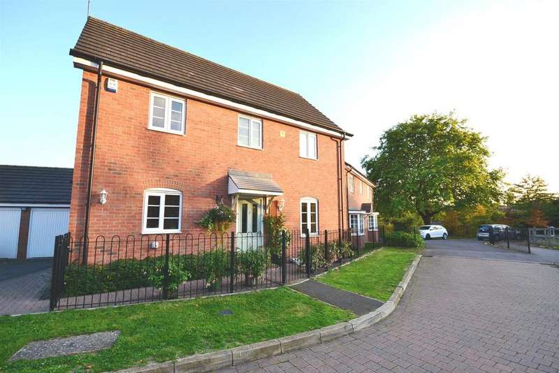 3 Bedrooms Detached House for sale in Wattes Close, Alvechurch