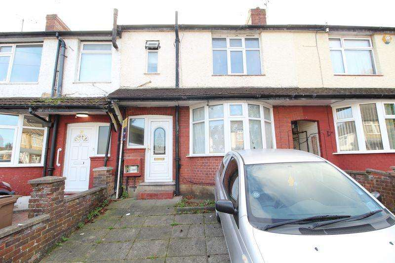 3 Bedrooms Terraced House for sale in REALISTICALLY PRICED THREE BEDROOM family home on Runley Road, Luton