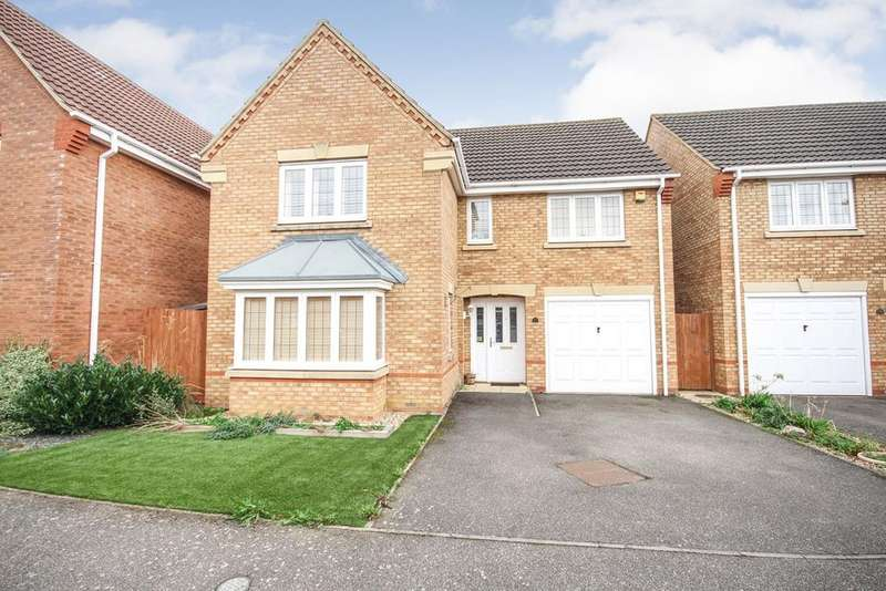 4 Bedrooms Detached House for sale in Fairground Way, Clifton, SG17