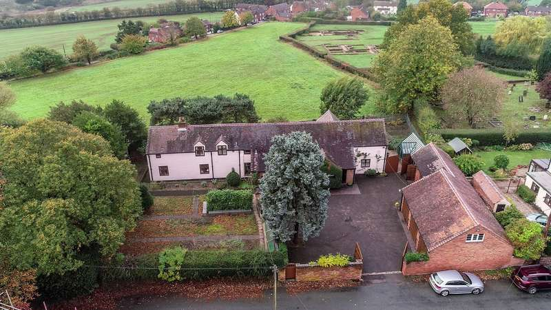 4 Bedrooms Detached House for sale in Green Lane, Wall, Lichfield, WS14