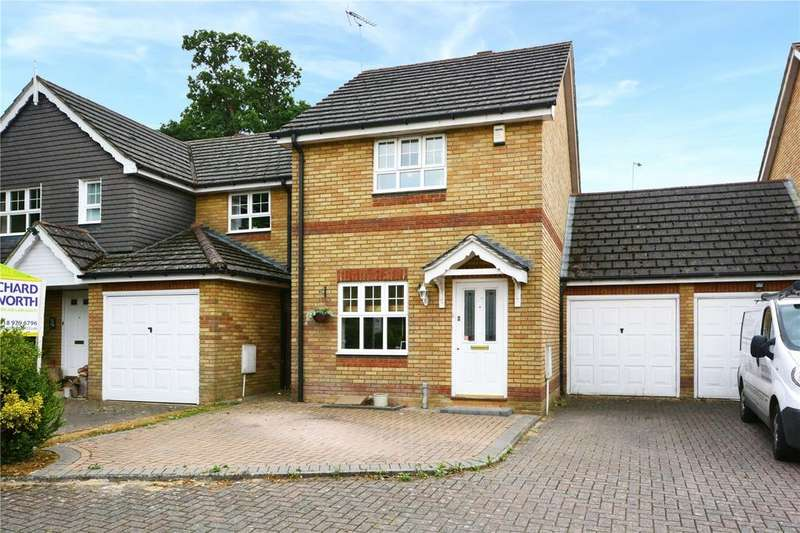 2 Bedrooms Link Detached House for sale in Tyler Drive, Arborfield, Berkshire, RG2