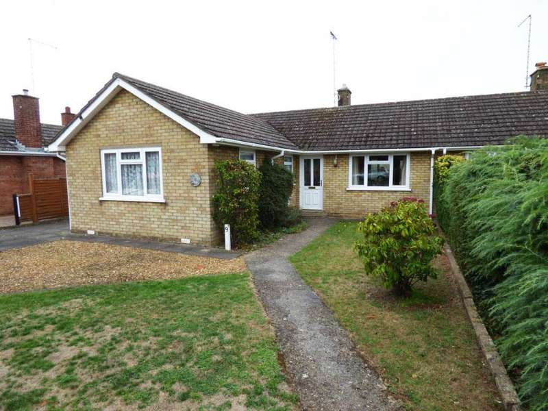 3 Bedrooms Semi Detached Bungalow for sale in Dale Close, Orton Waterville, Peterborough
