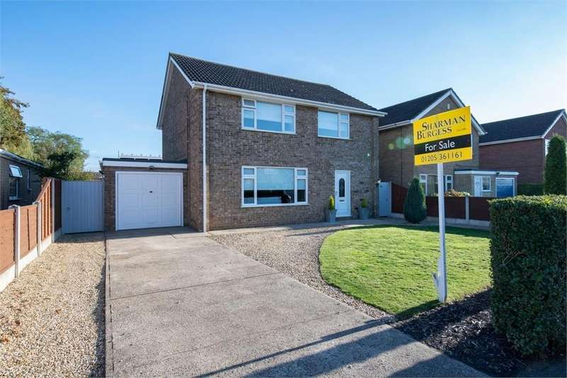 4 Bedrooms Detached House for sale in Sentance Crescent, Kirton, Boston, Lincolnshire