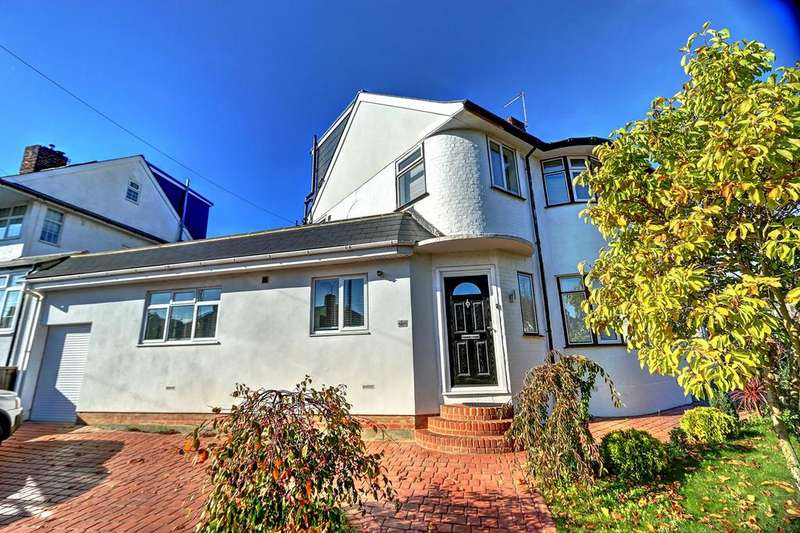 4 Bedrooms Semi Detached House for sale in Brownspring Drive, New Eltham, SE9