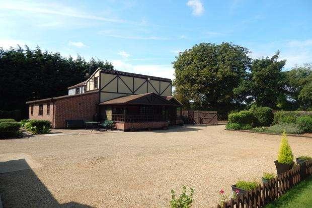 5 Bedrooms Detached House for sale in Kirkfield Lane, Walpole St. Andrew, Wisbech, PE14