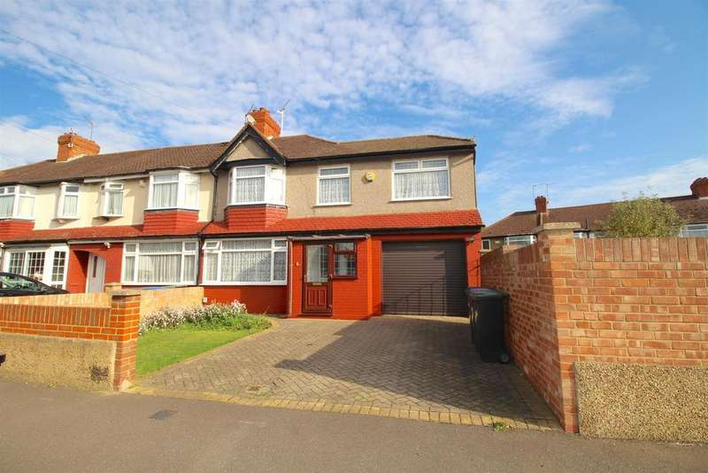 4 Bedrooms End Of Terrace House for sale in Rugby Avenue, Edmonton, N9