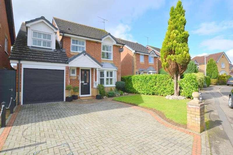 4 Bedrooms Detached House for sale in Elvington Gardens, Barton Hills, Luton, Bedfordshire, LU3 4ET