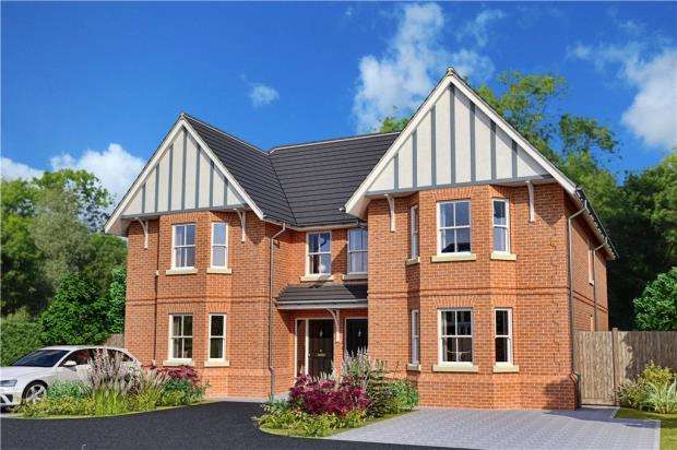 4 Bedrooms Semi Detached House for sale in The Valders, Linsford Lane, Mytchett