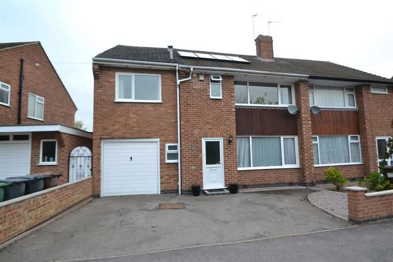 4 Bedrooms Semi Detached House for sale in Valley Road, Loughborough, Leicestershire