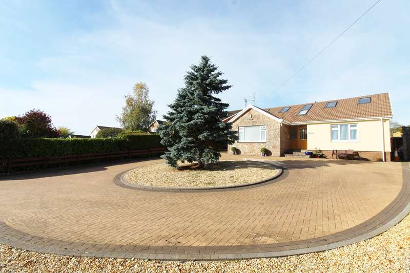 4 Bedrooms Detached Bungalow for sale in Tregarn Road, Langstone, Newport, NP18