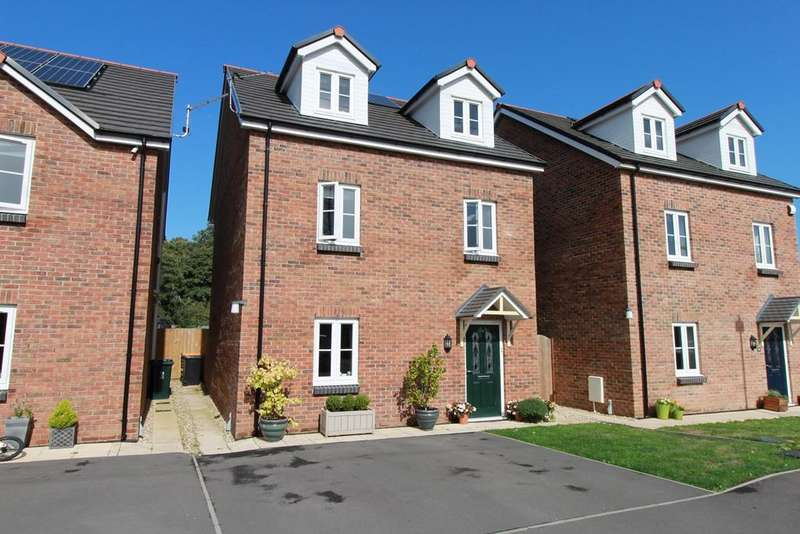 4 Bedrooms Detached House for sale in Sol Invictus Place, Caerleon, Newport, NP18