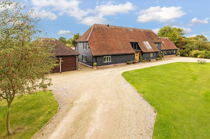 5 Bedrooms Detached House for sale in Cherry Green, Westmill, Nr Buntingford