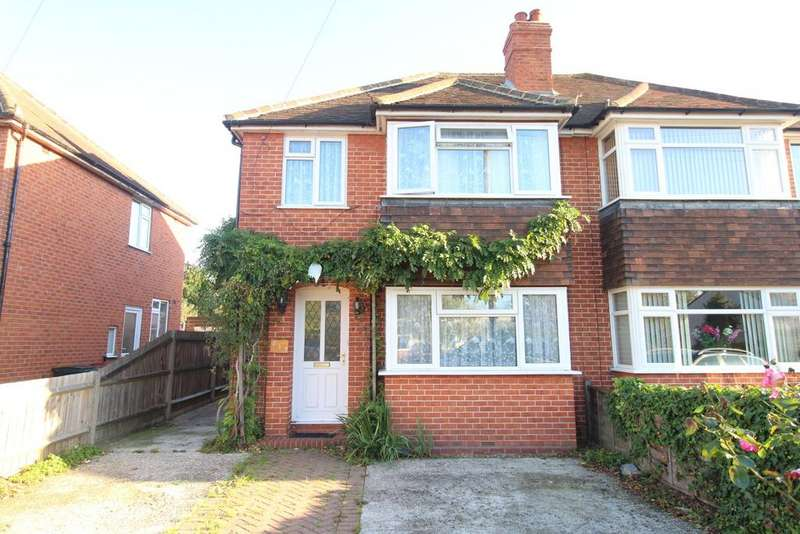 3 Bedrooms Semi Detached House for sale in Whitley Wood Road, Reading, RG2 8LD