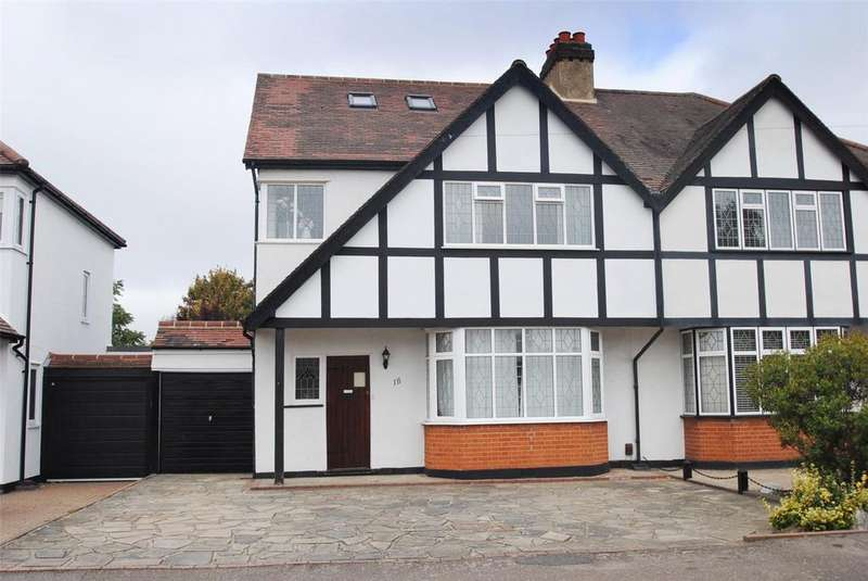 4 Bedrooms Semi Detached House for sale in Southview Drive, Upminster, RM14